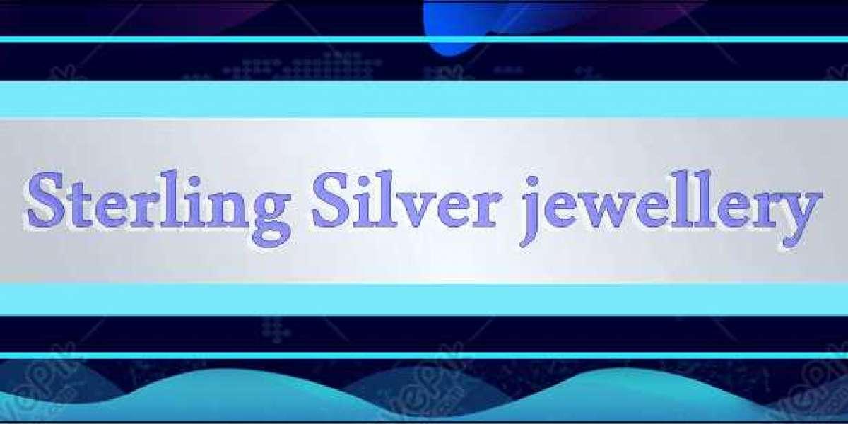 Sterling Silver jewellery.