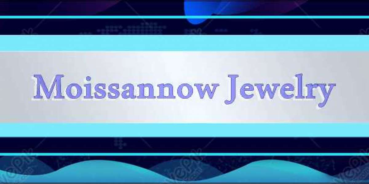 Moissanite jewelry.